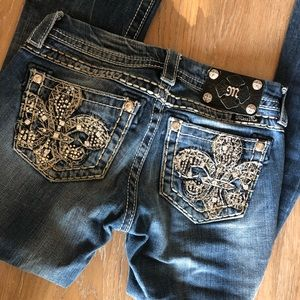 Miss Me Slim Boot Jeans Size 24